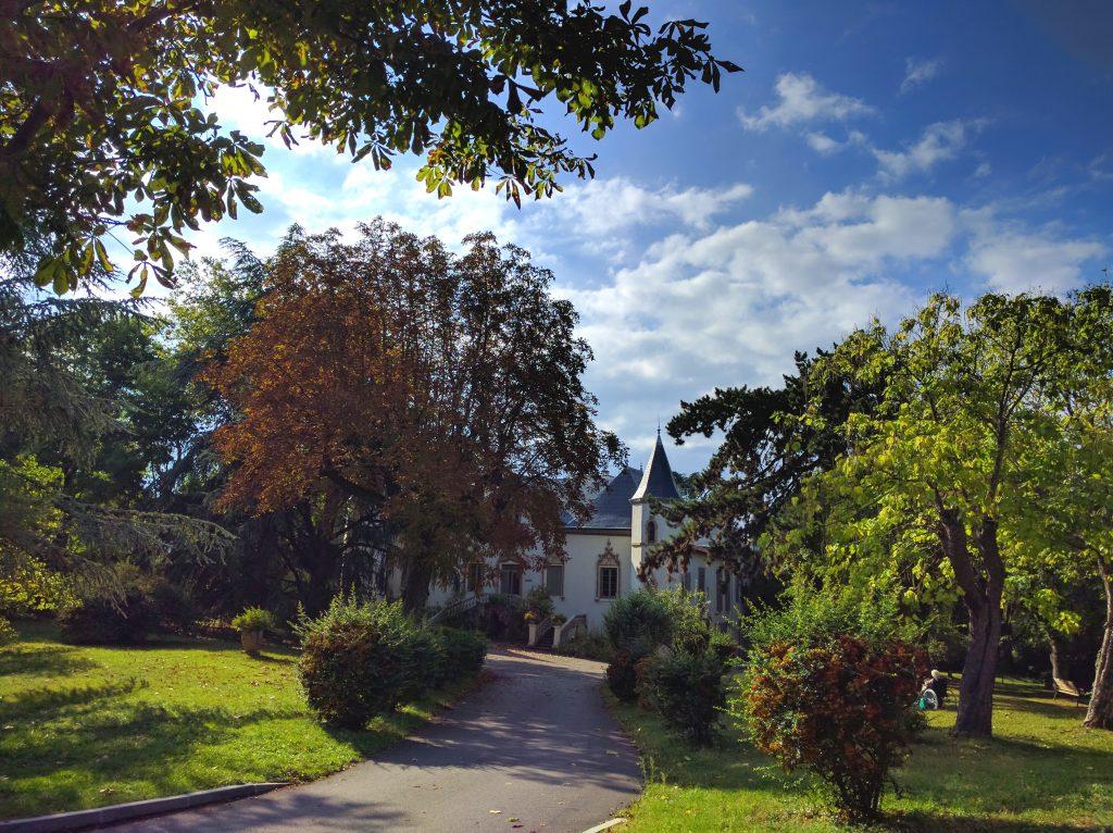 Château et Parc de l' Hôpital Maternité de Ste Foy lès Lyon