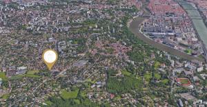 Plan acces et de situation CHSF Sainte Foy Lyon Saone Rhone Confluence